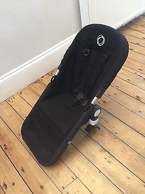 Bugaboo Cameleon 3 Seat Unit In Black With Frame, Fabric And Harness