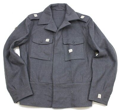 FINLAND ARMY COMBAT WOOL JACKET in GREY
