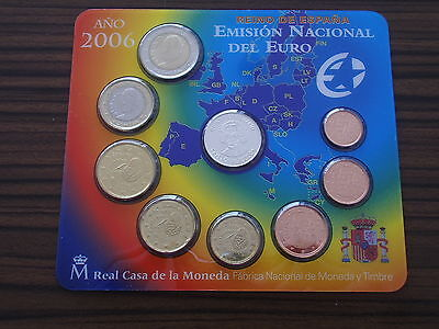 Spanien 2006 Euro KMS Blister mit Silber Medalie Cristoph Columbus Spain silver