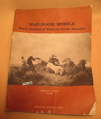 Saddle History Book MAN MADE MOBILE of North America Signed & by SMITHSONIAN