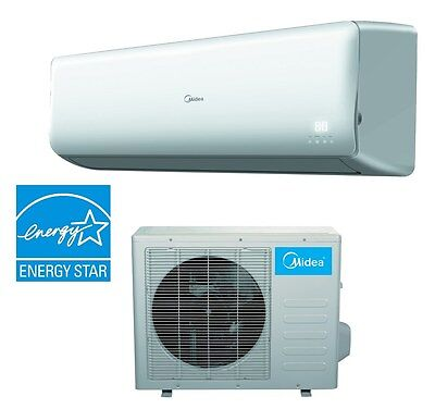 Midea  Mini-Split Inverter Air Conditioner and  Heat Pump 18000 Btu 21 SEER