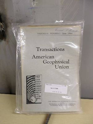 Transactions American Geophysical Union. 20+ issues 1959-1964