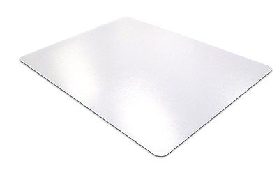 "Desktex PVC Smooth Back Desk Mat, 20"" x 36"", Rectangular, Clear FBDE2036V"