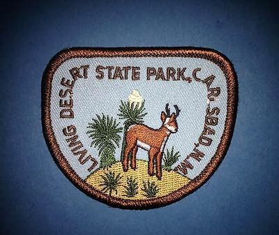 Living Desert State Park Carlsbad NM Hat Jacket Biker Vest Travel Patch Crest