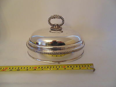Victorian silver plated dish dome . Excellent condition $85.00