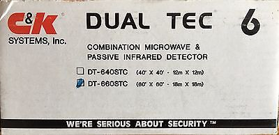 DT-660-STC 60' x 60' Dual Tec Combination Microwave & Passive Infrared Detector