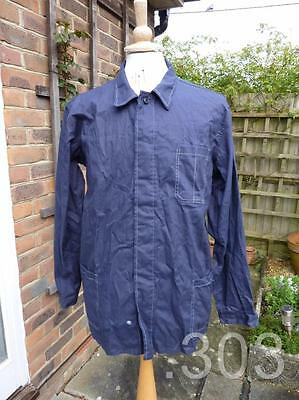 Vintage Workwear Blue Industrial Chore Jacket / Overcoat, Vietnam, Size 53