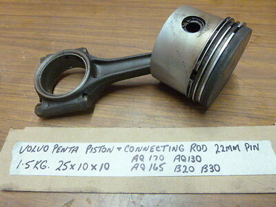 Volvo Penta Piston/Connecting Rod 22MM Pin AQ130 AQ165 AQ170 B20 B30