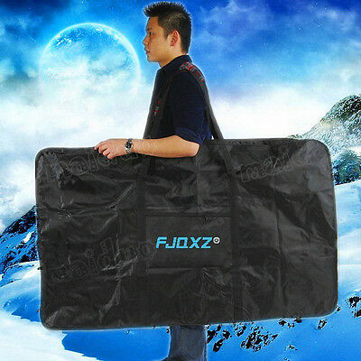"26-27.5"" Foldable Bicycle Transport Cases Bike Frame Carrier Bag Bike Storage"