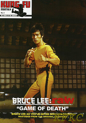 """BRUCE LEE RAW """"GAME OF DEATH"""" Fold-Out Poster-Magazine KFM #3 Rare Pics"""