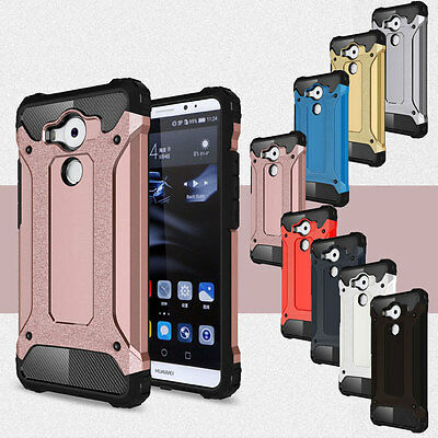 Armor Slim Shockproof Heavy Hybrid Rugged Hard Case Cover For HUAWEI Mate 9 8