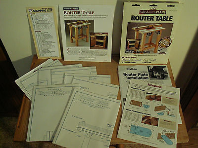 Woodhaven Router Lift Woodsmith Router Table And Fence Plans Kreg Extras New