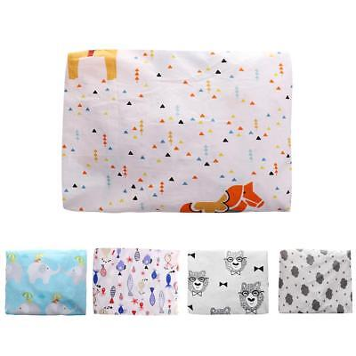 Cotton Printed Baby Kids Crib Bedding Sheet Cot Bed Fitted Sheets 130*70cm