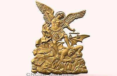 3D Model STL for CNC Router Engraver Carving Artcam Aspire Religiom Icons 1899