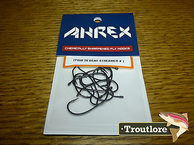 18 x AHREX TP650 #1 TROUT PREDATOR STREAMER HOOKS NEW FLY TYING MATERIALS