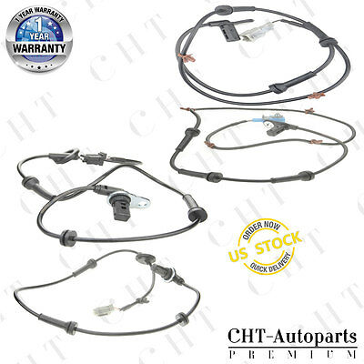 4x ABS Wheel Speed Sensor for Nissan Maxima V6 3.5L Front and Rear  Left & Right