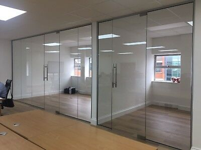Glass Panel Wall System - Toughened Glass Partitioning