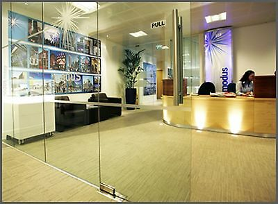 Demountable Office Glass Partitions - Fully relocatable glass partitioning