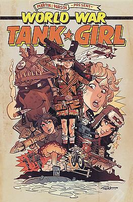 Tank Girl World War Tank Girl #4 (Of 4) Cvr A Parson (Mr)