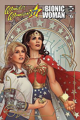 Wonder Woman 77 Bionic Woman #6 (Of 6) Cvr B Scott