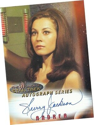 Women Of Star Trek In Motion: A2 Sherry Jackson - Andrea Autograph/Auto Card