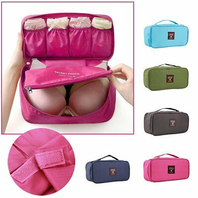 Portable Protect Bra Underwear Lingerie Case Travel Organizer Bag Waterproof EH