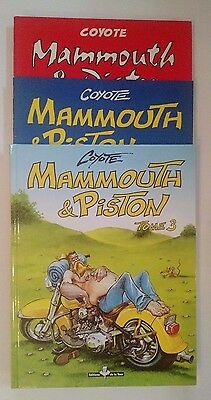 Mammouth Et Piston ** Tome 1 A 3  ** Comme Neuf Coyote