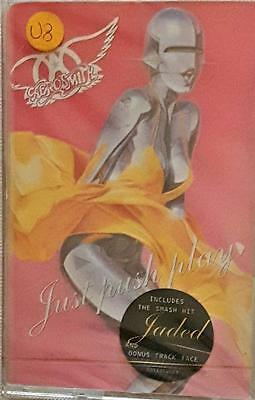 Aerosmith. Just push play. Mc Cassette Tape Sealed