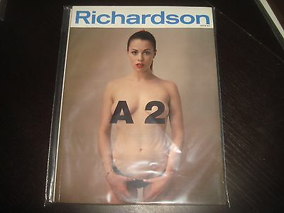 RICHARDSON A2 Adult Andrew and Terry Richardson Alisha Klass Rare