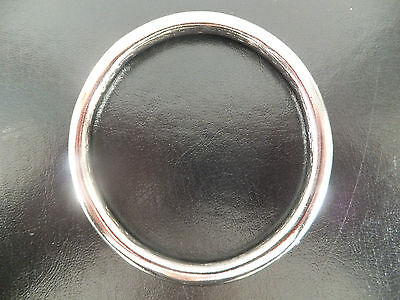 "Heavy Duty [3"" I/D] NICKEL PLATED / Solid Cast Brass O Ring"