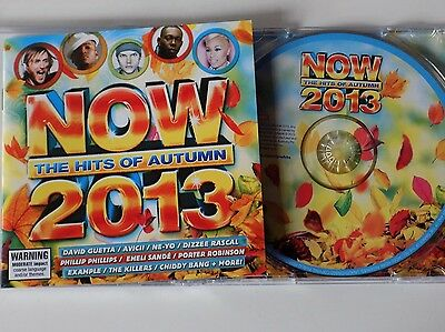 NOW - The Hits Of Autumn 2013 - Various CD EMI AS NEW!