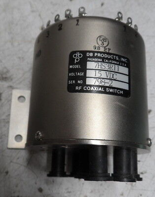 Sma Rf Coaxial Switch Db Ind Pn 7Hs3R12      Never Installed      Free Shipping