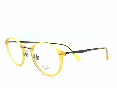 14c20b53079 Ray- Ban 100% Authentic Unisex Eyeglasses Rb7073 5589 Matte Yellow Opal  47-21