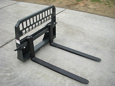 "Bobcat Skid Steer Attachment - New 48"" 5,500 Pound Pallet Forks - Ship $139"
