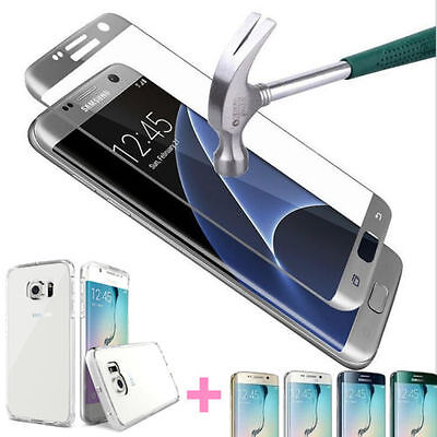 Full Cover Tempered Glass Screen Protector For Samsung Galaxy S7 Edge Plus