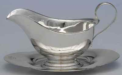 Gorham 709 STERLING Gravy Boat With Attached Underplate 3741645