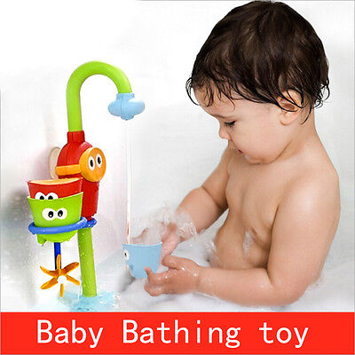 Baby Shower Bath Toys Shower Faucet Bathing Water Spraying Tool Toys Pop
