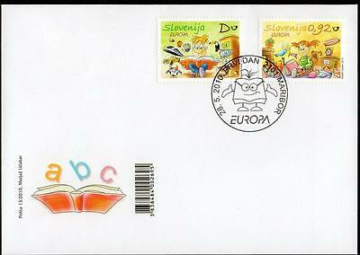 Slovenia 2010 Eurostamps - Children's Books FDC
