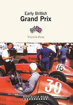 Early British Grand Prix by Trevor Pask Paperback Book New