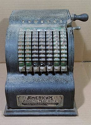 Antique-Vintage-American-Can-Co-Model-5-Adding-Machine-1912-Patent