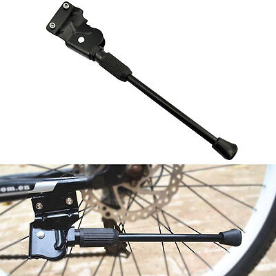 MTB Road Bike Side Kickstand Mountain Bicycle Adjustable Aluminum Alloy Stand