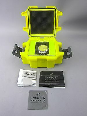 Invicta Corvette CR6-101 Stainless Steel Mens Wristwatch 50M Water Resistant NEW