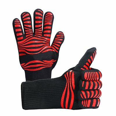 BBQ Grilling Cooking Gloves - Extreme Heat Resistant Gloves-1 Pair