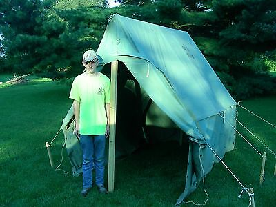 BOY SCOUT CANVAS Wall Tent