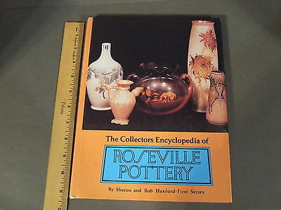 Roseville Pottery Hard Cover Collectors Reference Book