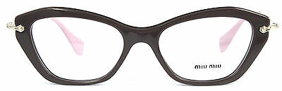 Miu Miu  VMU 04L DHO-1O1 Eyeglasses Women Cateye 52mm - 8