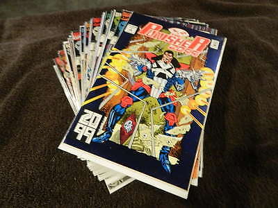 1993 MARVEL Comics THE PUNISHER 2099 #1-34 - Near Complete 30 Comic Lot - VF-NM