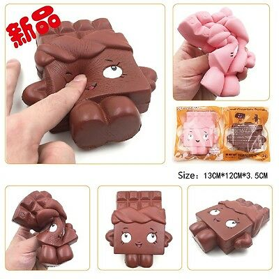 1PC 13CM Jumbo Chocolate Boy Girl Squishy Soft Slow Rise Scented Gift Fun Toy