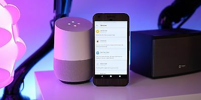 Google Home Speaker virtual assistant echo home automation