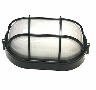 Caged Wall  Mounted  Bunker Utility  Light  LED Blub Included  E27 - IP54